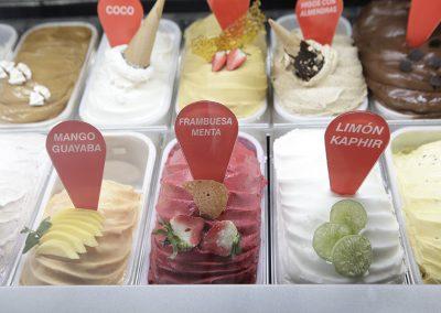 helados artesanales sabores